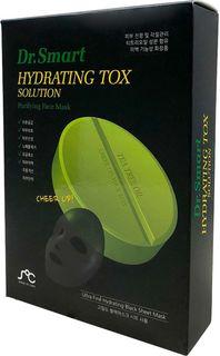 Тканевая маска для лица Rainbowbeauty Dr. Smart Hydrating Tox Solution, для проблемной кожи, с маслом чайного дерева, 10 шт