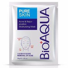 Маска косметическая BIOAQUA Bioaqua маска для лица анти-акне для проблемной кожи, 30 гр.