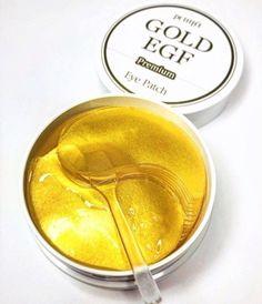 Патчи гидрогелевые для глаз Petitfee Premium Gold & EGF Eye Patch, 60 шт