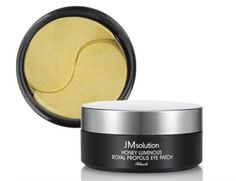Гидрогелевые патчи JMSolution Honey Luminous Royal Propolis Eye Patch для кожи вокруг глаз с прополисом, 60 шт