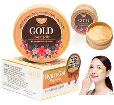 Petitfee. Гидрогелевые патчи с золотом и маточным молочком Koelf Gold & Royal Jelly Eye Patch