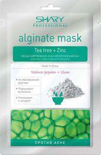 Маска альгинатная Shary Чайное дерево, моделирующая, против акне, 30 г