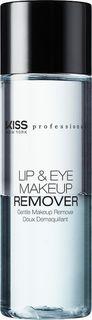 Kiss New York Professional Двухфазное средство для снятия макияжа с глаз и губ, 100 мл