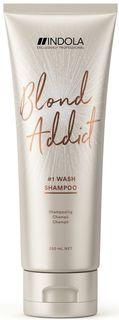Indola Шампунь Blond Addict для всех типов волос блонд, 250 мл