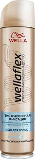 Лак для волос Wellaflex экстра-сильной фиксации, 250 мл