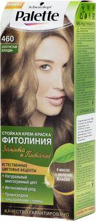PALETTE Краска для волос ФИТОЛИНИЯ оттенок 460 Золотистый блондин, 110 мл