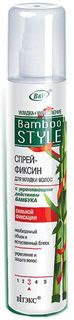 Витэкс Спрей-фиксин для волос с укрепляющим действием бамбука, сильной фиксации, 215 мл Viteks