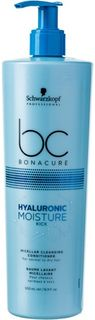 "Кондиционер мицеллярный очищающий Schwarzkopf Professional Bonacure ""Hyaluronic Moisture Kick"", 500 мл"