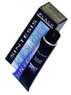 Краска для волос Черный Black Professional Line BLK150008 COLOR-CREAM SINTESIS № 1.0