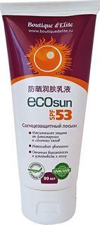 Boutique d` lite ЭКО-SUN Солнцезащитный лосьон SPF 53+, 99 мл