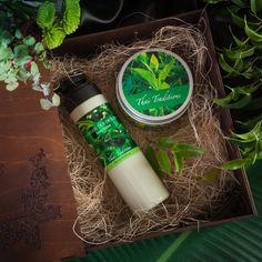 """Подарочный набор для тела Thai Traditions """"Зеленый Чай Детокс"""", Лосьон для тела, 250 мл + Скраб-гель для тела, 200 мл"""