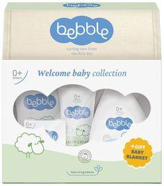 Bebble Подарочный набор Крем-мыло 100 г + Шампунь для волос и тела 200 мл + Крем под подгузник 75 мл + Крем для тела 150 мл + Масло для тела 150 мл