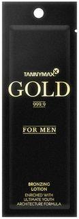 Tannymaxx Крем-ускоритель для загара мужской Gold 999,9 For Men Bronzer, с усиленными бронзаторами и инновационным комплексом активных веществ Ultimate Youth Architect Formula, 13 мл