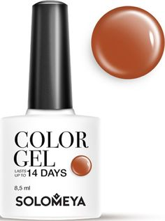 Solomeya Гель-лак Color Gel, тон Irish SCG054 (Айриш), 8,5 мл