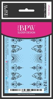 Наклейки для ногтей BPW.style sd3-11, 2