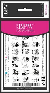 Наклейки для ногтей BPW.style sd1-1396, 2