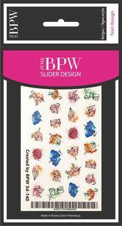 Наклейки для ногтей BPW.style 3d140, 2