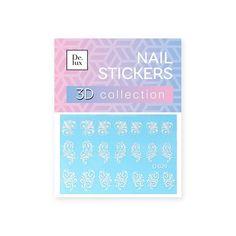 Наклейки для ногтей De.Lux D029