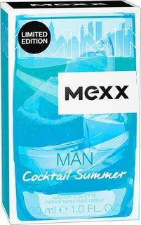 Mexx Cocktail Summer Man М Туалетная вода 30 мл