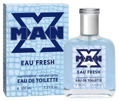 Туалетная вода Apple Parfums X Man Eau Fresh мужская 100ml