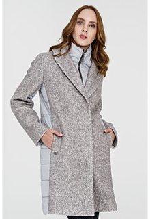 Шерстяное утепленное пальто Electrastyle