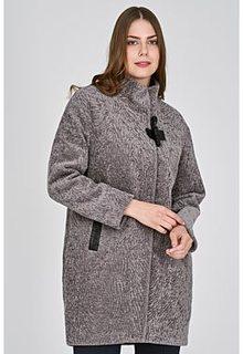 Утепленная шуба из овечьей шерсти Virtuale Fur Collection
