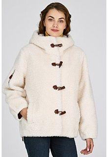 Короткая шуба из овечьей шерсти Virtuale Fur Collection