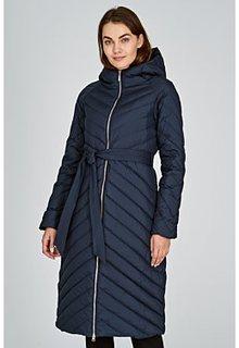 Пуховое пальто с капюшоном La Reine Blanche