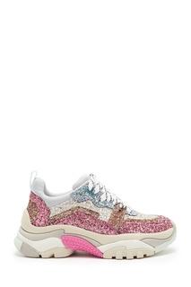 Розовые кроссовки Angel Ash