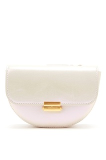 Поясная сумка перламутрового цвета Anna Wandler