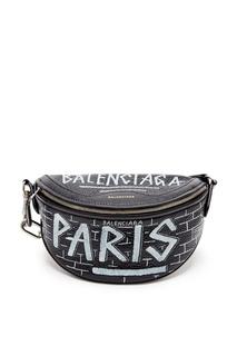 Поясная сумка Graffiti Souvenirs XXS Balenciaga