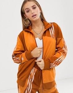 Оранжевая куртка adidas Originals x Danielle Cathari Firebird - Оранжевый
