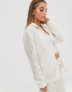 Белая спортивная куртка adidas Originals x Danielle Cathari Firebird - Белый