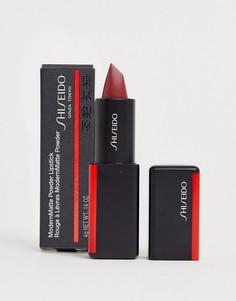 Матовая губная помада с пудровым эффектом Shiseido ModernMatte (Nocturnal 521