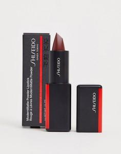Матовая губная помада с пудровым эффектом Shiseido ModernMatte (Velvet Rope 522