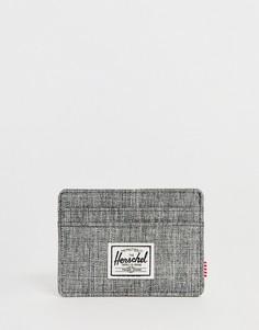 Визитница с принтом Herschel Supply Co Charlie RFID - Серый
