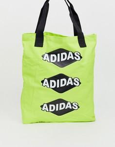 Желтая сумка-тоут adidas Originals bodega - Желтый