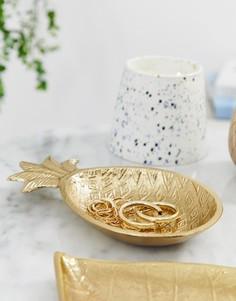 Подставка под украшения в виде ананаса Koopmans - Золотой