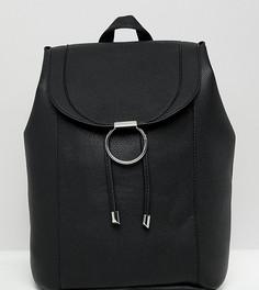 Рюкзак с кольцом New Look - Черный