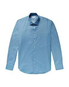 Джинсовая рубашка P.Johnson
