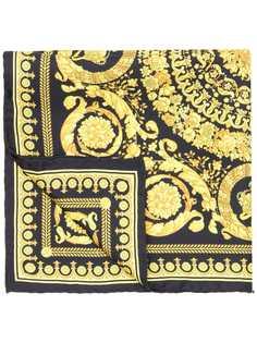 Versace шейный платок с принтом в стиле барокко