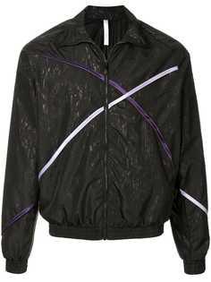 Cottweiler куртка-бомбер с полосатой окантовкой