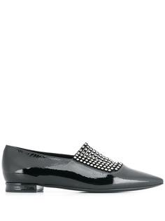 Casadei туфли Bellatrix на плоской подошве