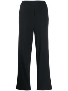 Etro брюки прямого кроя с завышенной талией