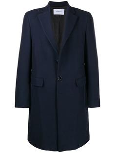 Dondup однобортное пальто узкого кроя