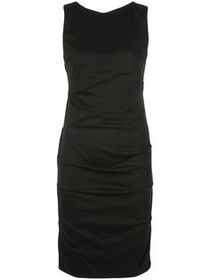 Nicole Miller коктейльное платье со сборками