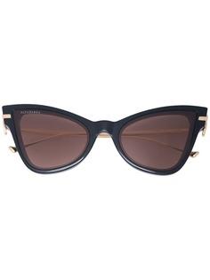 Altuzarra затемненные солнцезащитные очки в оправе кошачий глаз