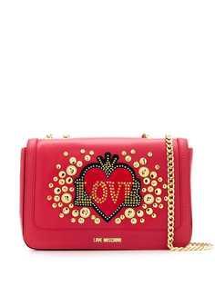 Love Moschino сумка на плечо с заклепками
