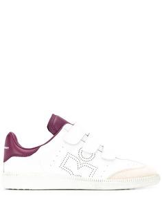 Isabel Marant кроссовки с перфорированным логотипом