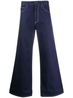 Marni джинсы широкого кроя